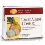 GARLIC ALLIUM COMPLEX- A fokhagyma minden jótékony hatása a veleljáró kellemetlen illatok nélkül